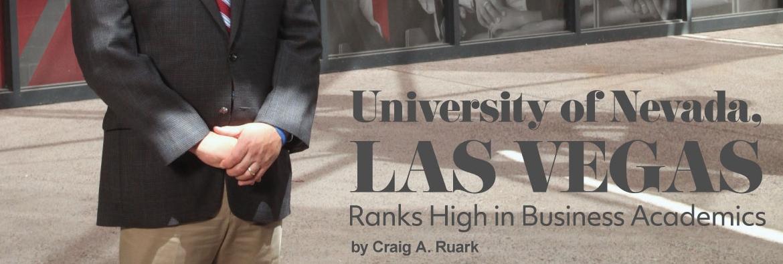 University of Nevada, Las Vegas ranks high in business academics